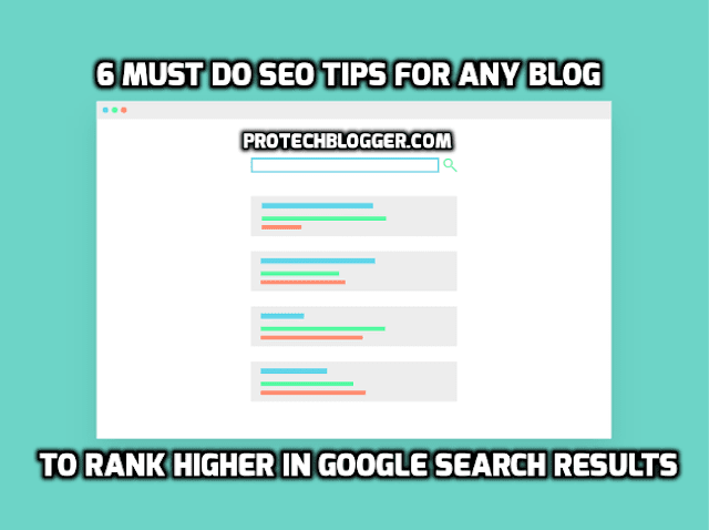 SEO Tips For Any Blog To Rank High In Google